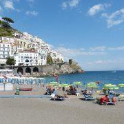 Amalfi dalla spiaggia