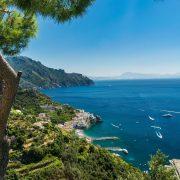 Parte alta di Amalfi